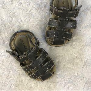 Koala Kids Brown Sandals Baby Size 2